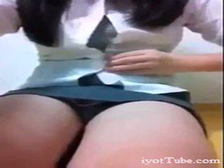 كوري مدرسة فتاة من iyottubedotcom