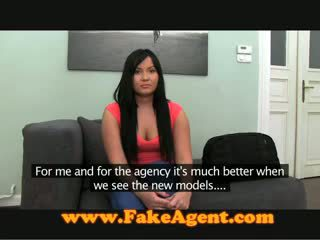 FakeAgent Anal Creampie For Chubby Amateur