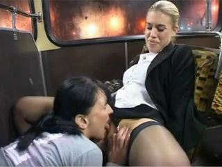 Donna Marie Fucks Bus Conductor