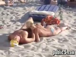 दृश्यरतिक, समुद्र तट, blowjob