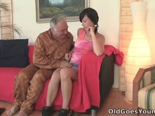 NataLia Gets Onto Her Boyfriend And The Old Man With The Large Gut