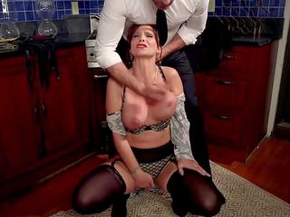 Anal Seductress Teaches Her Uptight Co-ed to Squirt for