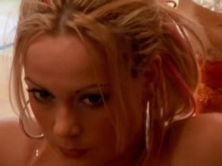 Sanna Brading swedish actress - A Hole...