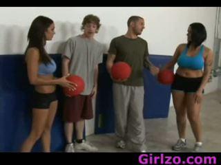 Angelina Carmella Sporty Whores Dodge Balls 1