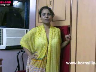Hinduskie laska lily chatting z jej fans - mysexylily.com