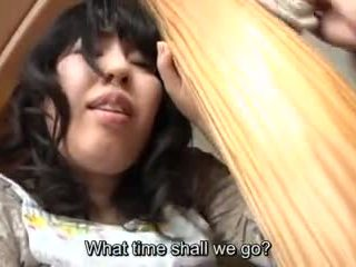 Subtitled জাপানী risky যৌন সঙ্গে voluptuous মা মধ্যে আইন