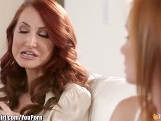 pussy licking, girl on girl, redhead