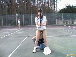 Japānieši seksuālā modele nokļūt jāšanās video