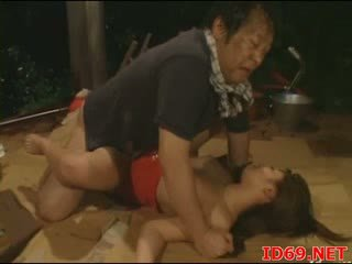 Jap av pupa gets pulled fuori per sesso