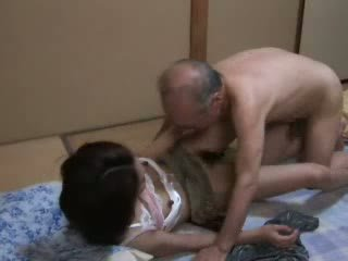 Nhật bản ông nội ravishing thiếu niên neighbors con gái video