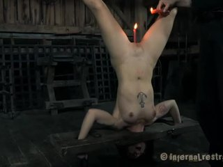 Hardcore clamping van heet jugs
