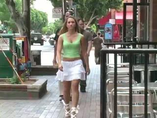 boobs, public flashing, skirts