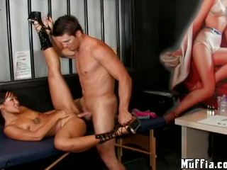 Seksualu azijietiškas jandi lin acquires jos šlapias twat hammered sunkus