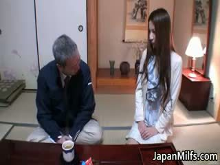 japonés, interracial, maduro