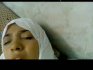Wonderful египетски arabic hijab момиче прецака в болница -