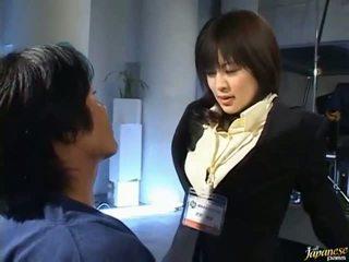 Japonais av gros seins