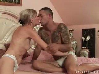Grandmas and Young Men Hot Sex Compilation