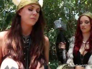 Alison tyler viking lesbiennes