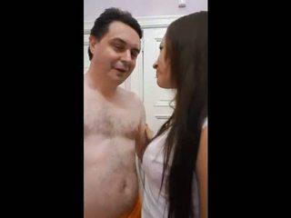dievča, výstrek, vagína