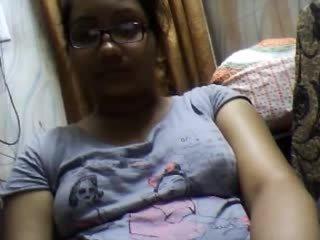 store bryster, webkameraer, indisk