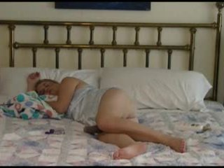 Dewasa pasangan bedtime hubungan intim video