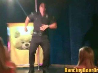 Big Facial for Large Woman at the Stripclub - DancingBearOrgy.com