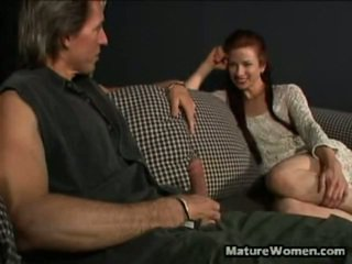 Athletic Red Head MILF Jenny Looks Classy And Distinguished As She Has Naked Out Of Her Outfit And Reveals Her Pert Boobies To A Camera. Soon A Doll In Her Comes Out As She Greedily Falls Onto