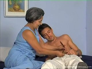 blowjob, zrel, aged lady