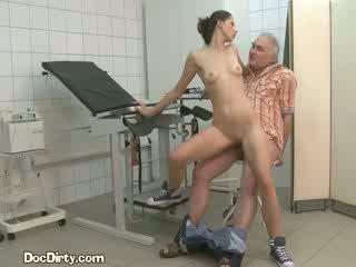 Patient takes spunk shot from kirli doktor