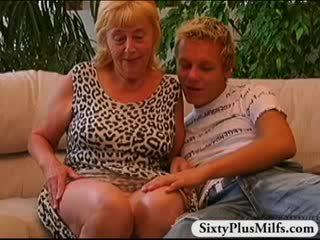 vieux, gilf, grand-mère