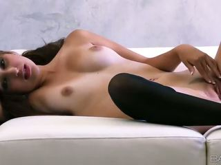 high heels watch, any stunning, quality stockings see