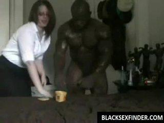 Iskola koedukált fucks fekete 10 inch fasz