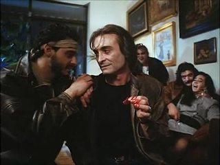La noche del ejecutor (1992) 西班牙人 birthday: 妻子 & 女儿 性交 & spoiled
