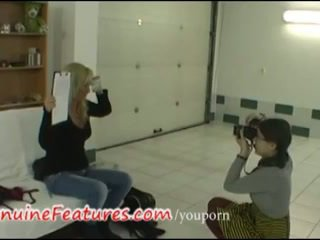 Casting with real czech blonde amateur