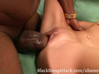 blowjobs, berambut cokelat, interracial