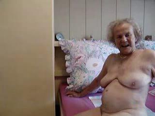 늙은, 여전히, 할머니
