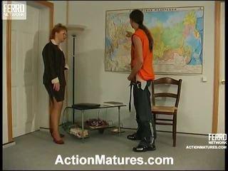hardcore sex, forfall, eldre porn