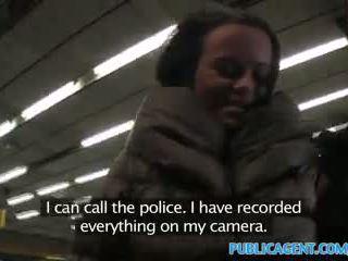 Publicagent ticket inspector fucks bir passager ile hayır ticket