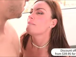 Bootylicious MILF and stepdaughter boned