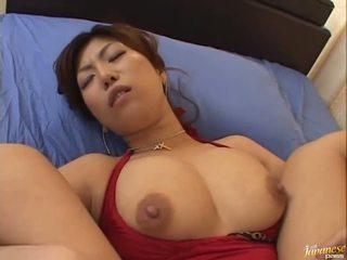 Nagy boobed ázsiai naho hazuki gets neki pina licking