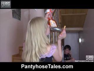 seks tegar, pantyhose, campuran