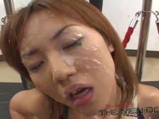 young, japanese, bukakke