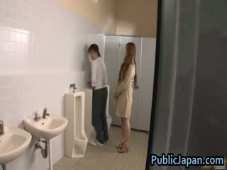 Ai Sayama asian model likes public fucking 2 by PublicJapan