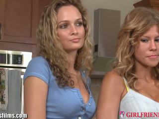 Girlfriendsfilms strapped lesbian milf in 3