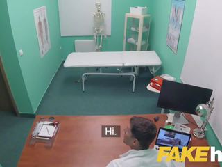 Fake Hospital Swallowing Doctors Hot Cum Helps Babes.