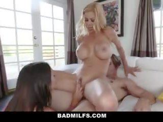 Badmilfs - Hot Professor Seduces Student Into Threesome