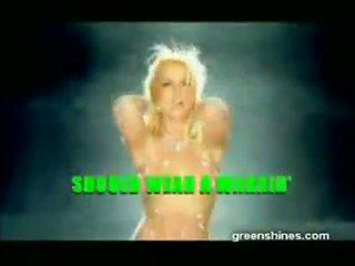 Britney spears 盗まれた toxic ビデオ