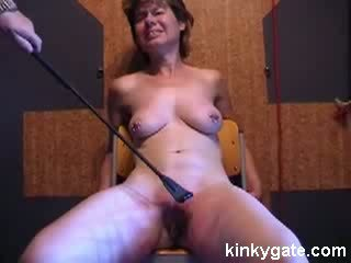 Extreme BDSM Training my wife Helga 47 years Video
