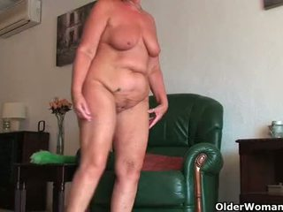chubby clip, old vid, online gilf