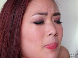 morena, sexo oral, deepthroat